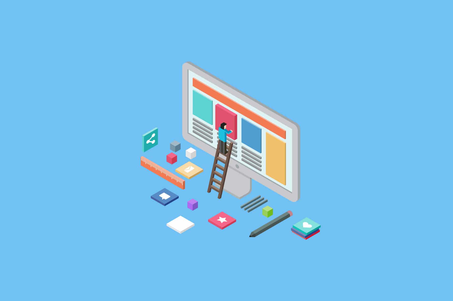 usability testing platforms vector graphic