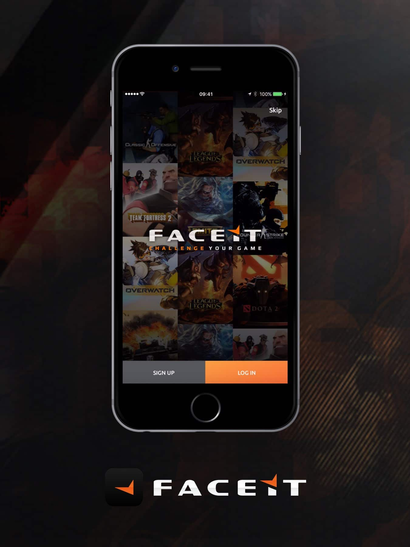 faceitapp fantasy league app ux design