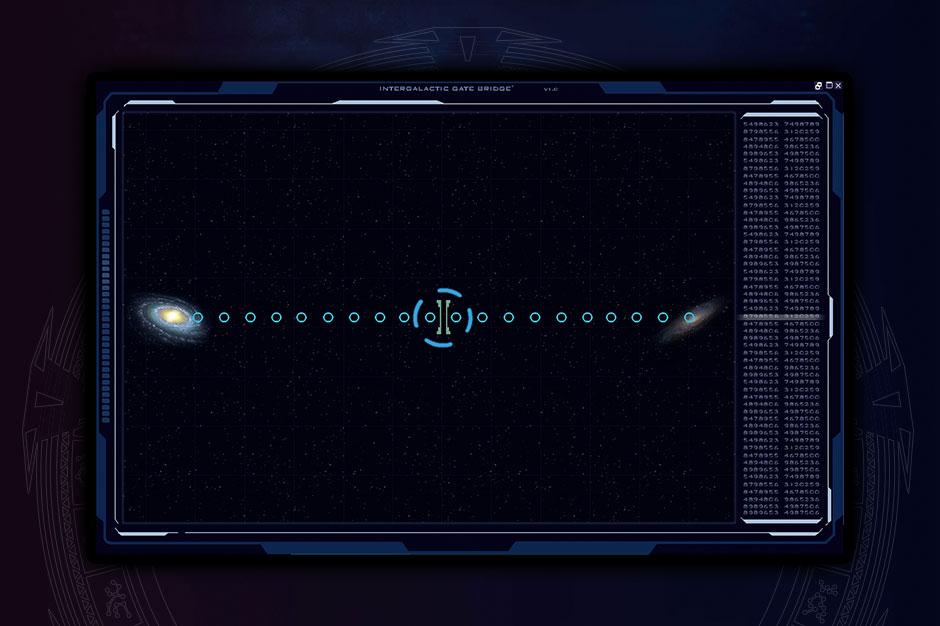 aisnsim gate bridge screen UI