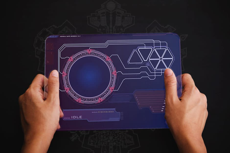 aisnsim gate screen UI