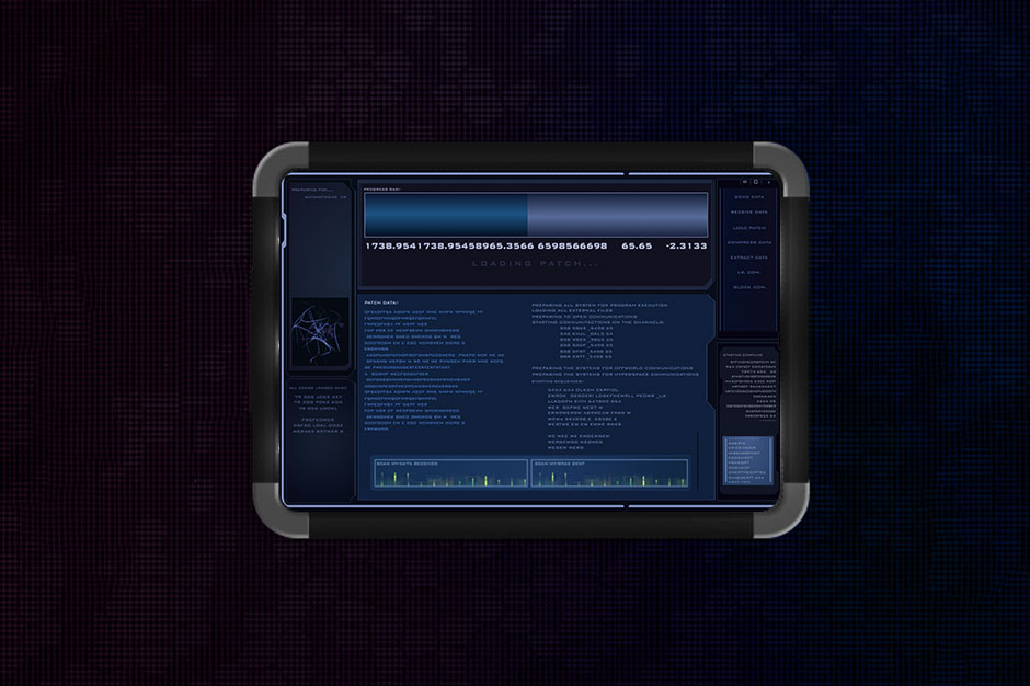 aisnsim communications screen UI