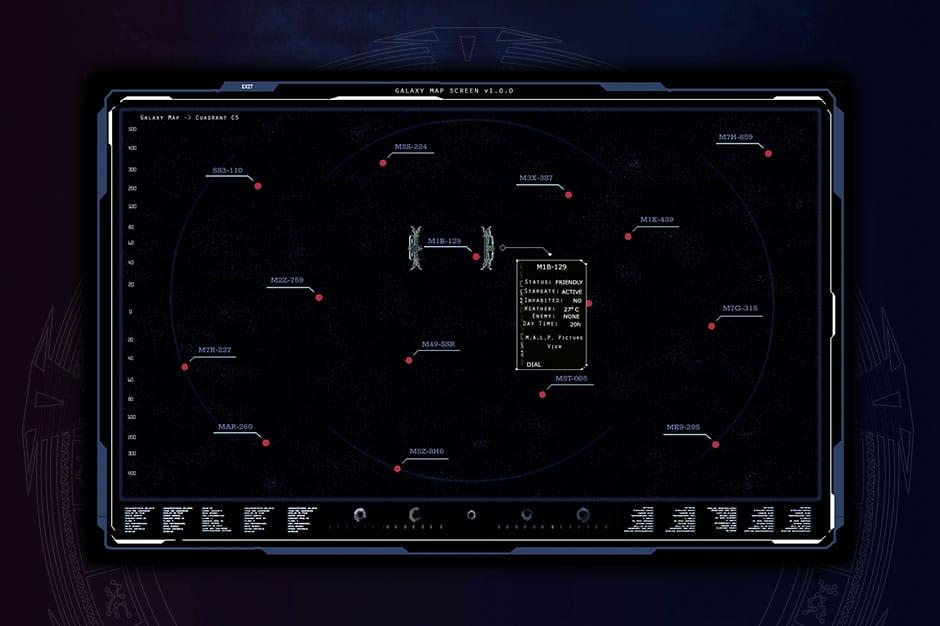 aisnsim galaxy map screen UI