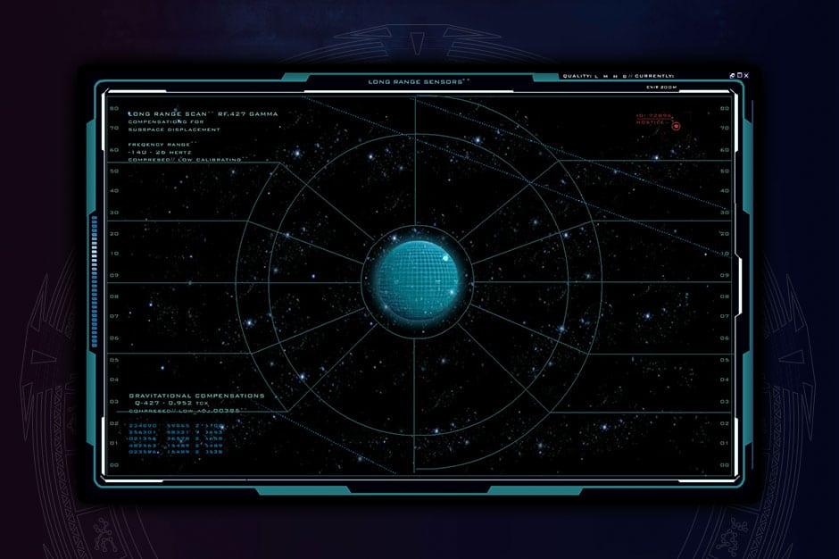 aisnsim long range communications screen UI