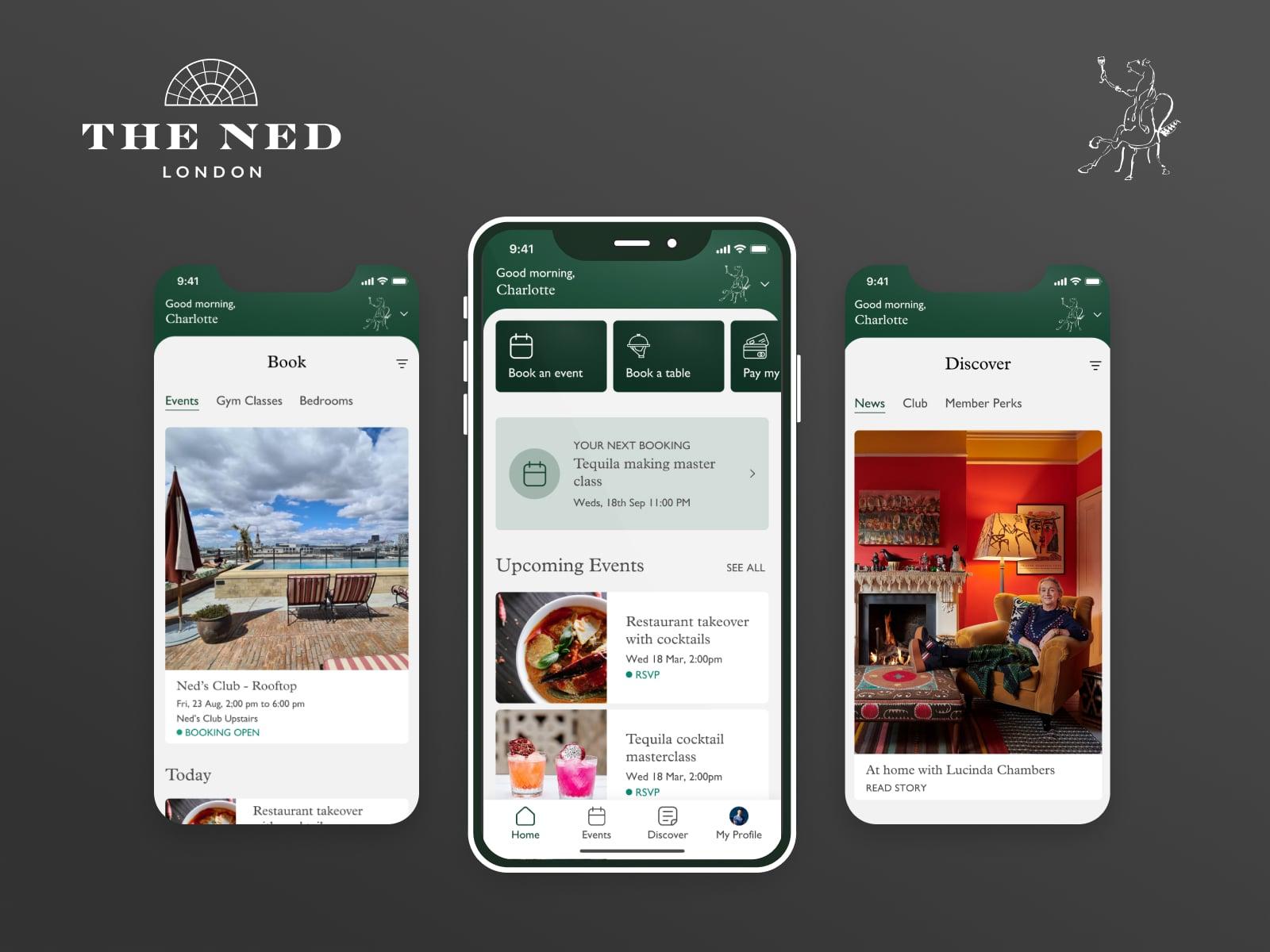 the ned members club app
