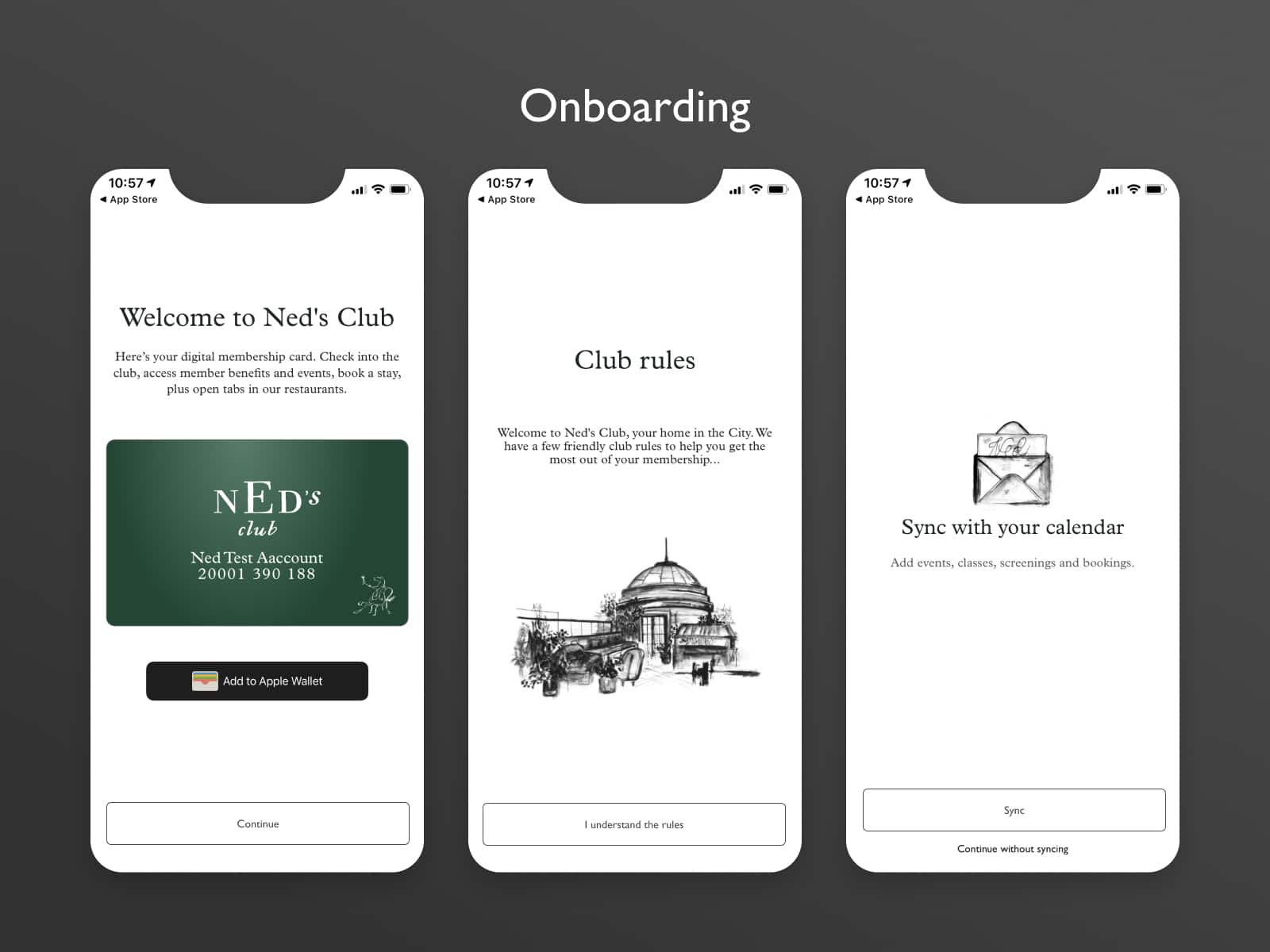 neds club onboarding