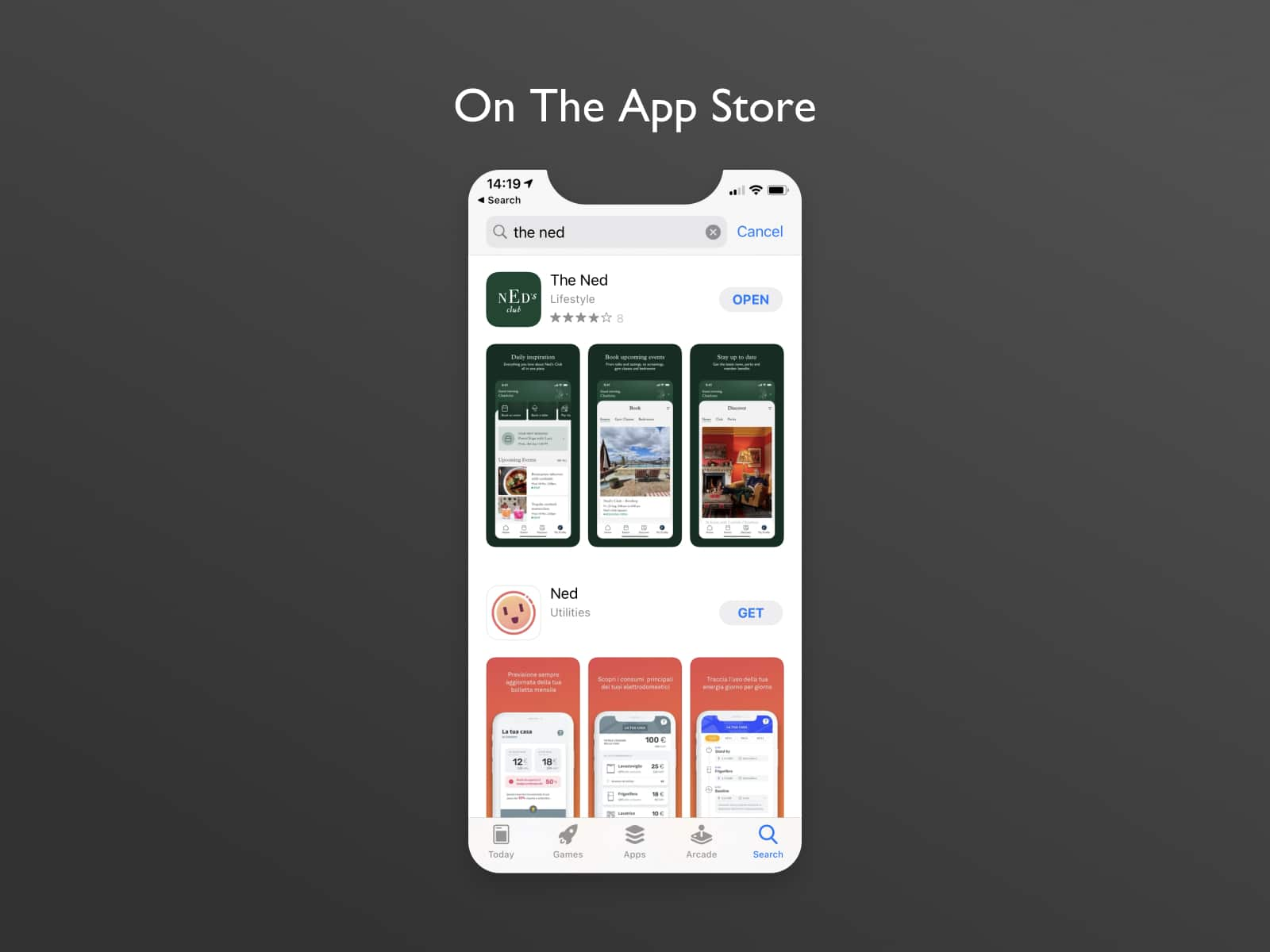 the ned app store